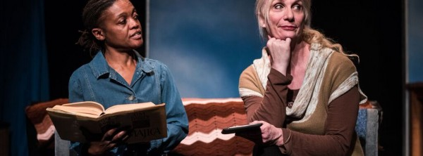 R A 20 Katurh Nelson (L) and Delia Kropp in Raggedy And at PFP. Photo by Paul Goyette.